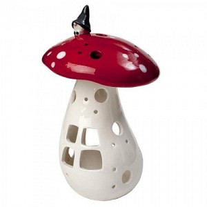 large-Lantern Gnome on mushroom-29-417